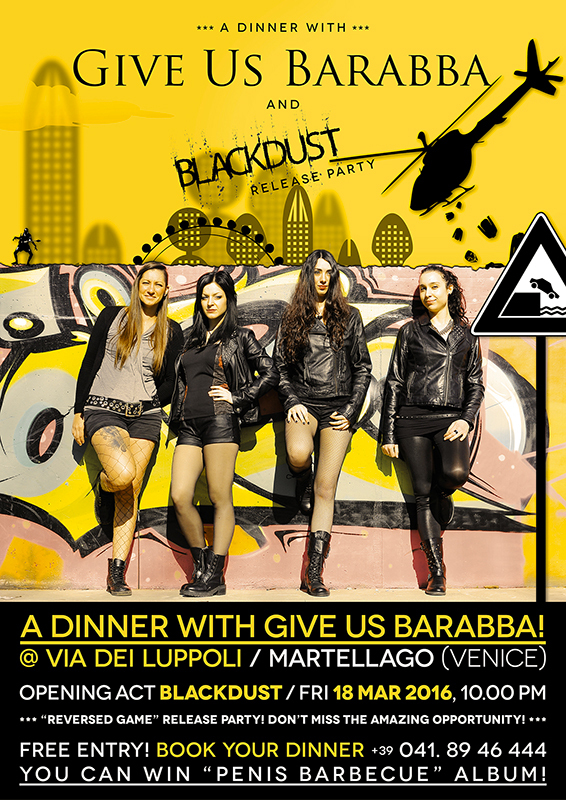 Give Us Barabba @ Via dei Luppoli