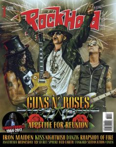 Rock Hard - Giugno 2017 - Guns n' Roses - Copertina