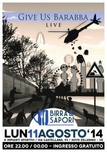 Give Us Barabba @ Birra & Sapori 2014