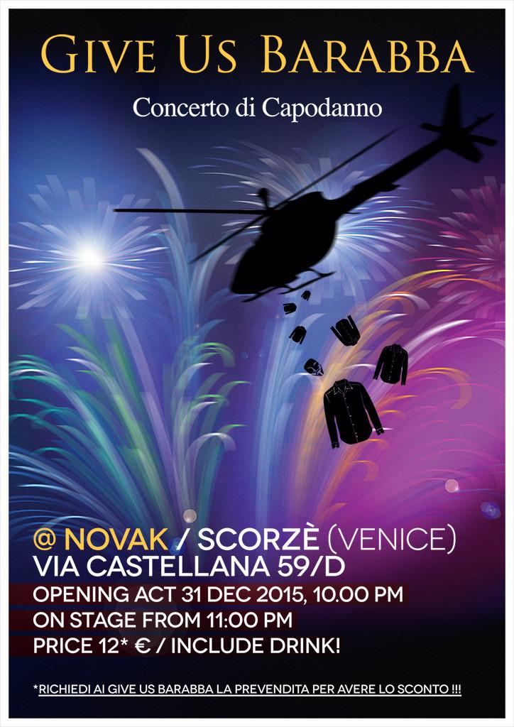Give Us Barabba - Concerto di Capodanno