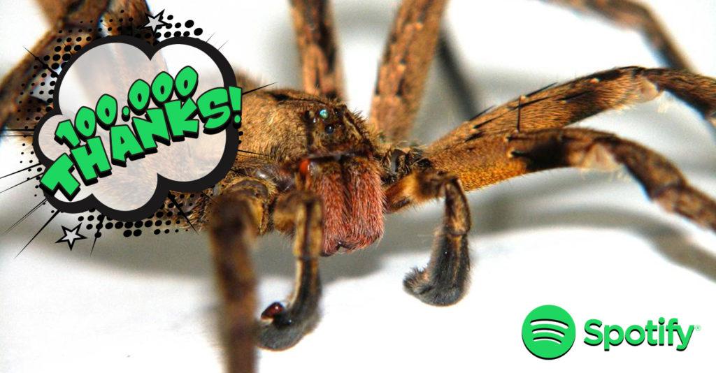 Give-Us-Barabba-Spider-Banana-Phoneutria-Nigriventer-100.000-Grazie