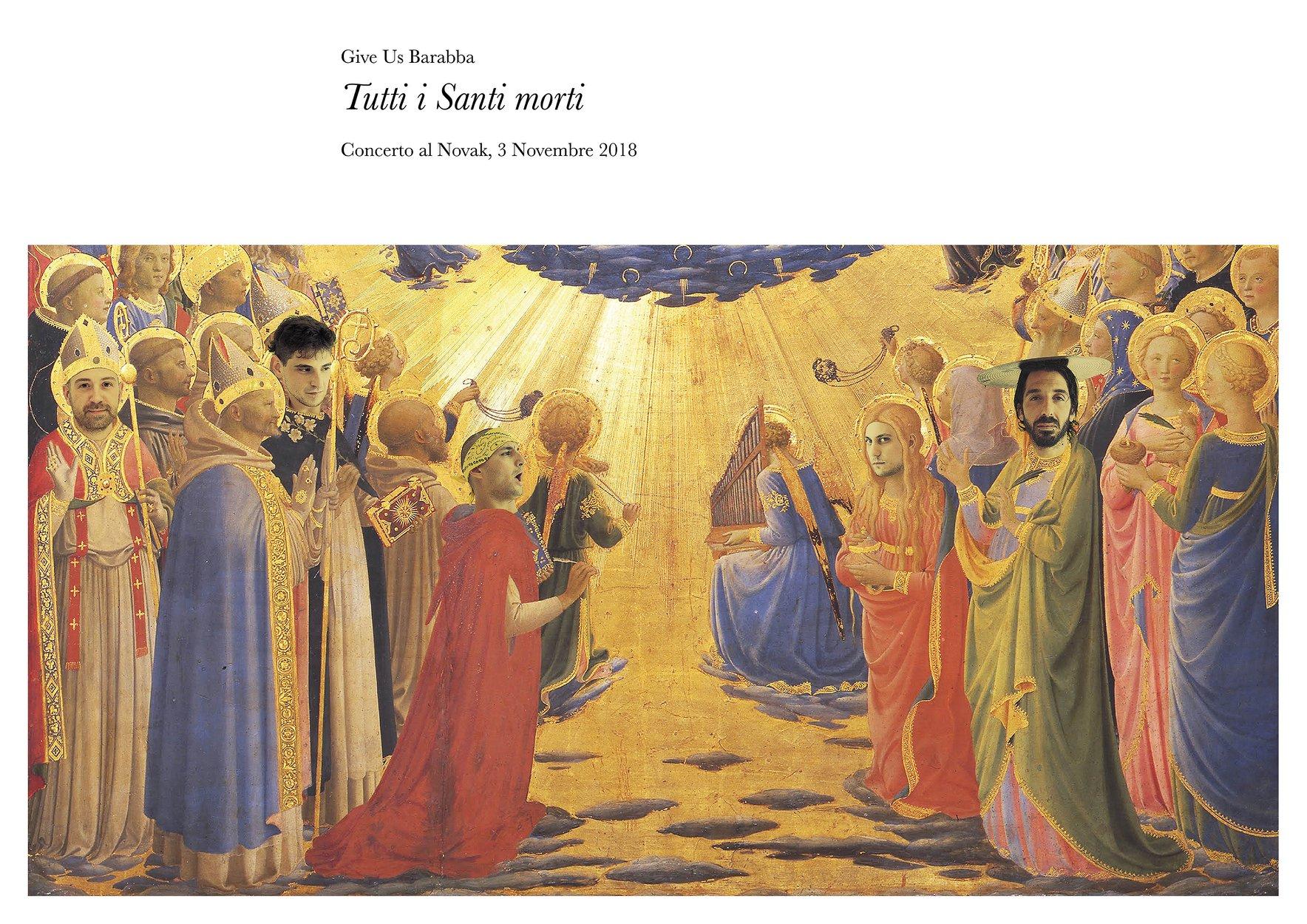 Tutti i Santi Morti | Give Us Barabba at Novak