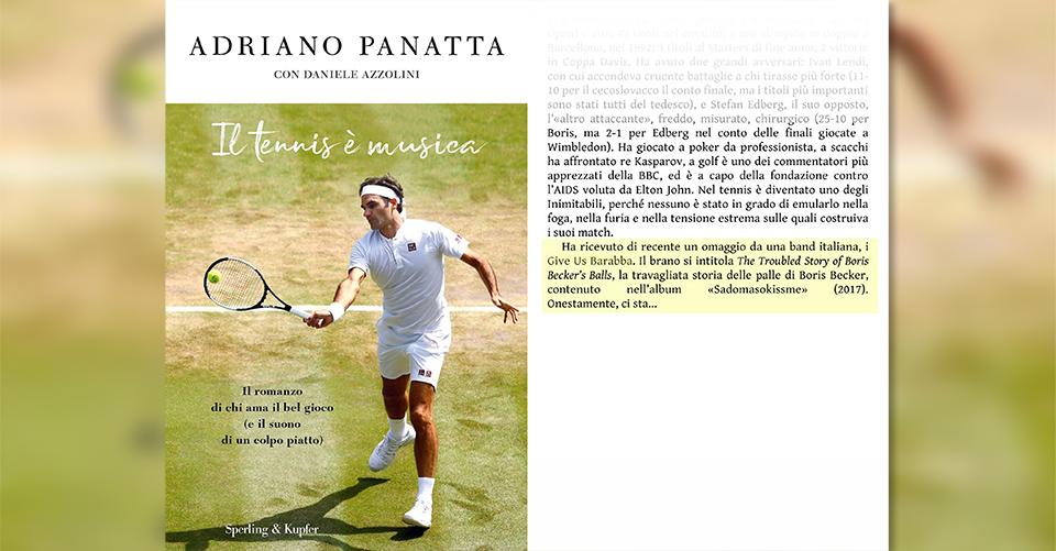 Give Us Barabba | Adriano Panatta - Il tennis è musica