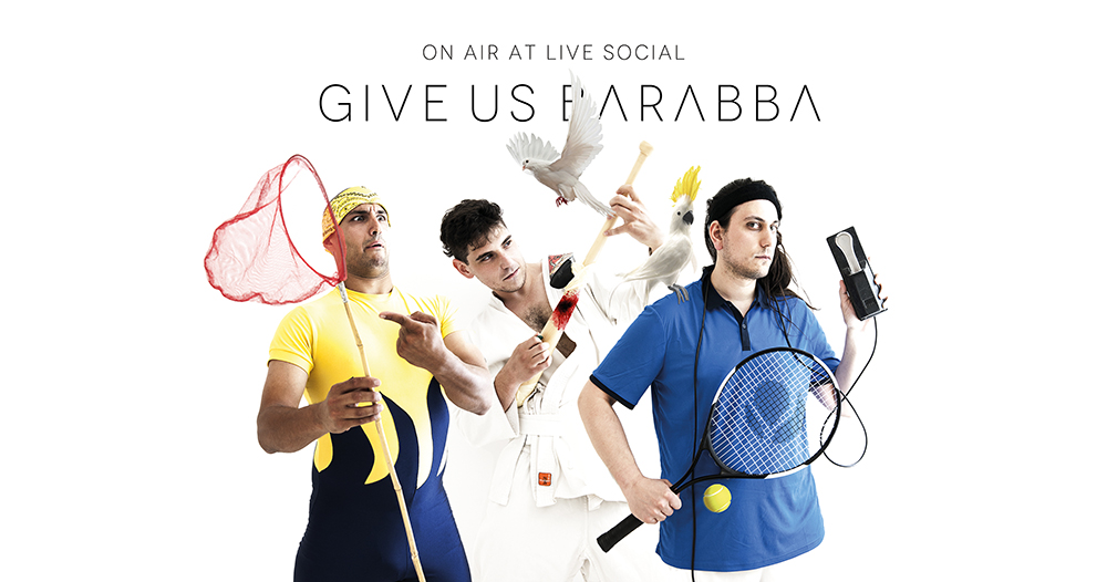 Give Us Barabba | ON AIR at Live Social - Radio Canale Italia