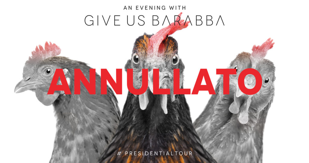 Give Us Barabba | Goto Storto | Trebaseleghe | Emergenza Coronavirus